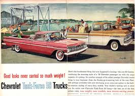Vintage Ford Truck Advertisements - vintage american truck ads time capsule fuel curve