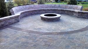 Paver Patio With Retaining Wall by Brick Paver Patios Walkways Lincoln Ne Dreamscapes Inc