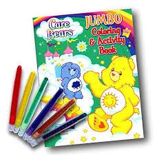 care bears coloring u0026 activity book twist crayons
