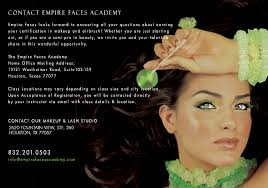 Make Up Classes In Houston Tx Empire Faces Academy Makeup Training U0026 Certification
