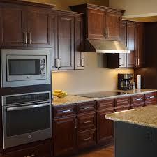 30 inch corner base kitchen cabinet everyday cabinets 36 inch cherry mahogany brown leo saddle blind corner base kitchen cabinet left