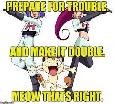 Double Meme - team rocket meme imgflip
