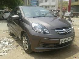 honda amaze used car in delhi used honda amaze sx mt diesel 2015 in delhi 3026054 cartrade