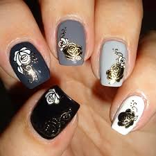 white rose nail art image collections nail art designs
