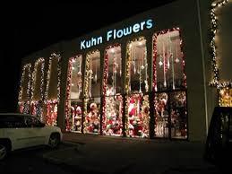 flowers jacksonville fl kuhn flowers christmas display jacksonville fl