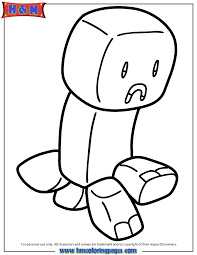 coloring pages minecraft pig minecraft creeper coloring pages getcoloringpages com