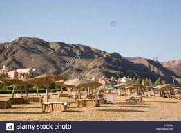 mountain backdrop with mountain backdrop in taba heights resort on