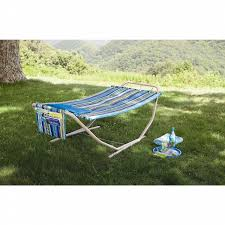 essential garden comfort folding hammock shop your way online