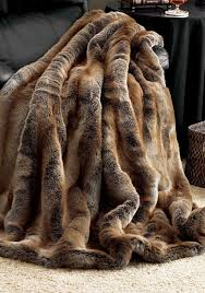 Furry Blanket Fake Fur Throws Ballkleiderat Decoration