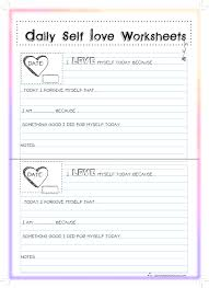 self esteem worksheets u2013 wallpapercraft