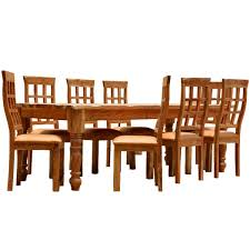 Solid Wood Dining Room Furniture Furniture Farmhouse Solid Wood Dining Table Chair Set