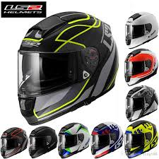 motorbike gear 2016 new double lenses ls2 ff397 full face motorcycle helmet glass