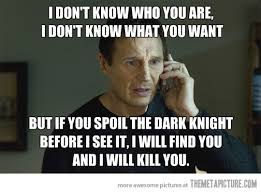 Liam Neeson Memes - i don t know who you are the meta picture