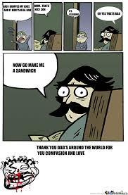 Meme Dad - dad logic by mushroompillow meme center