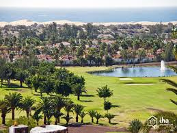 maspalomas rentals in a bungalow for your holidays with iha