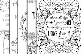5 bible verse coloring pages 1 inspirational quotes diy