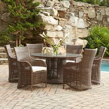 Resin Wicker Patio Dining Sets Creative Of Lloyd Flanders Outdoor Dining Sets Lloyd Flanders