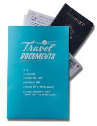 travel docs images Mini pocket folder quot travel documents quot ladyfingers letterpress jpg