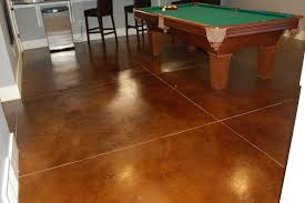 Flooring For Basement Floors by Shed And Basement Flooring Types Stained Concrete Epoxy Tile