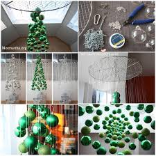 arvore de natal suspensa decoraração pinterest