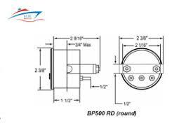 water witch model bp500 bilge alarm gauge u2013 ac dc marine inc