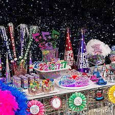 New Years Decorations Party City by Colorful Nye Wearables Table Party City