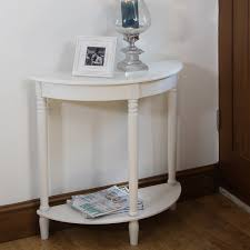 white half moon table white half moon accent table tedx designs the amazing style and
