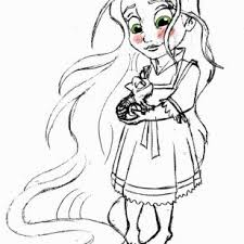cute powerpuff girls coloring pages beautiful rapunzel