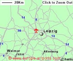 map of leipzig leipzig halle schkeuditz airport germany lej guide flights