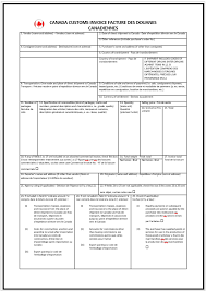 canadian invoice template free invoice templates