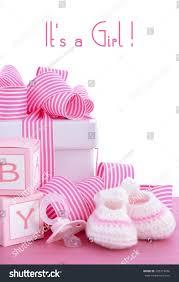 baby shower pink gift baby stock photo 292319456 shutterstock