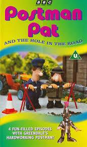 postman pat hole road vhs postman pat wiki