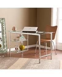 southern enterprises writing desk sale southern enterprises oslo glass writing desk 47 wide