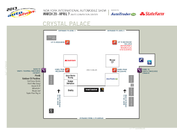 Cobo Hall Floor Plan Auto Show Global All About Auto Shows Part 10