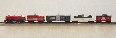hallmark lionel train christmas ornaments