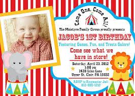 how to create circus birthday invitations ideas u2014 all invitations