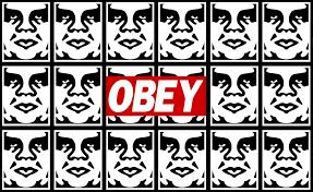 obey obey graffiti stencils hd wallpaper