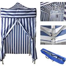 Cabana Tent Walmart by Tms Portable Cabana Stripe Tent Privacy Changing Room Pool Camping