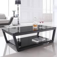 Black Modern Coffee Table Coffee Table Chic Glass Modern Coffee Table Ideas Glass Top