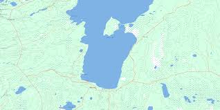 Map Of Montreal Canada by Montreal Lake South Sk Maps Online Free Topographic Map Sheet