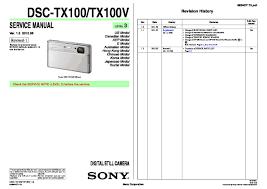 sony dsc tx100 dsc tx100v service manual page 7