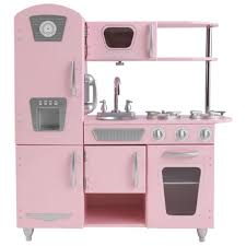 cuisine kidkraft vintage kidkraft vintage kitchen pink play kitchens best buy canada