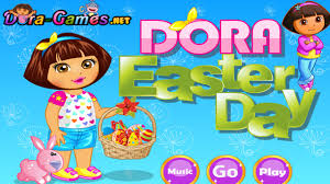 easter games dora easter egg hunt games online game dora the explorer games