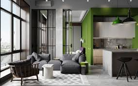modern concept industrial studio apartment open studio apartment