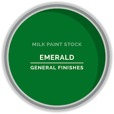 stock milk paint color emerald green general finishes design center