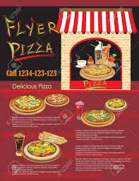 restaurants menu templates free flyer pizza template of website restaurant menu royalty free flyer pizza template of website restaurant menu stock vector 15362208