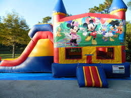 mickey mouse clubhouse bounce house module combo bouncing beez