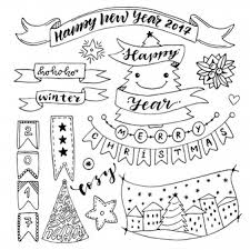 christmas doodle vectors photos and psd files free download