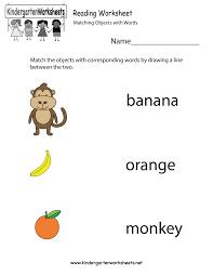 free printable reading worksheet for kindergarten kelpies