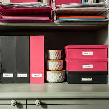 boite de rangement papier bureau boîte a4 gris anthracite classement